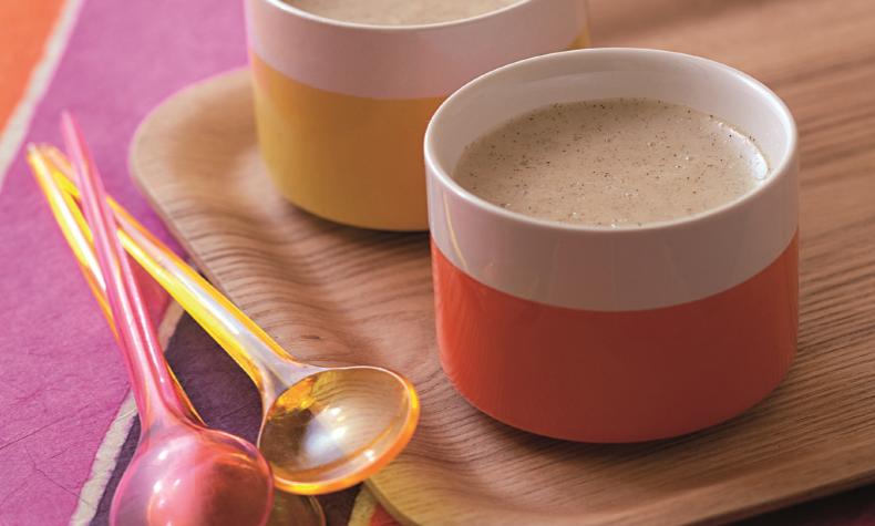 Crème à la vanille (4 pers)