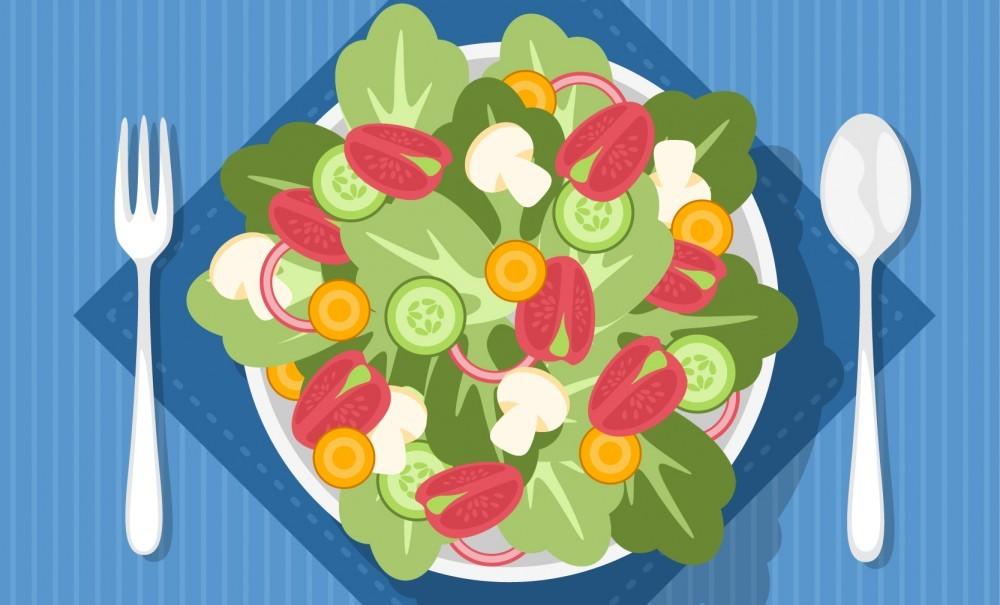 Idées d'ingrédients pour salades composées