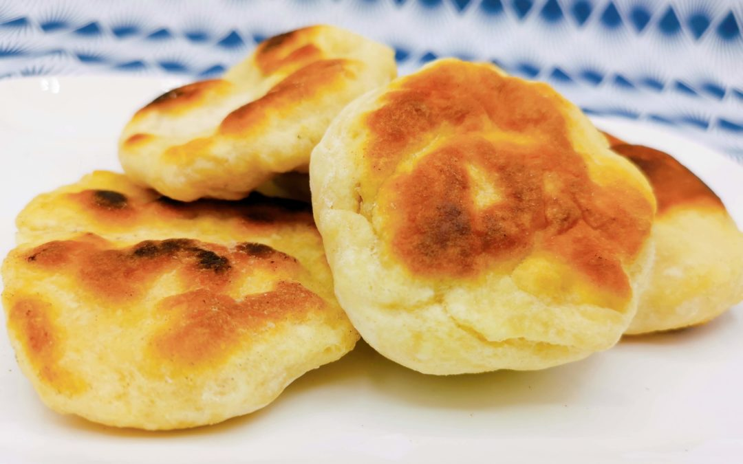 Petits pains rapides et sans levure boulangère