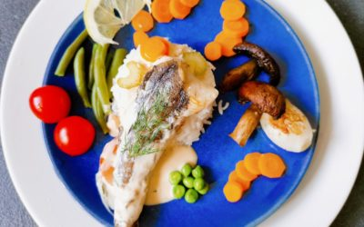 Merluchon et ses petits légumes
