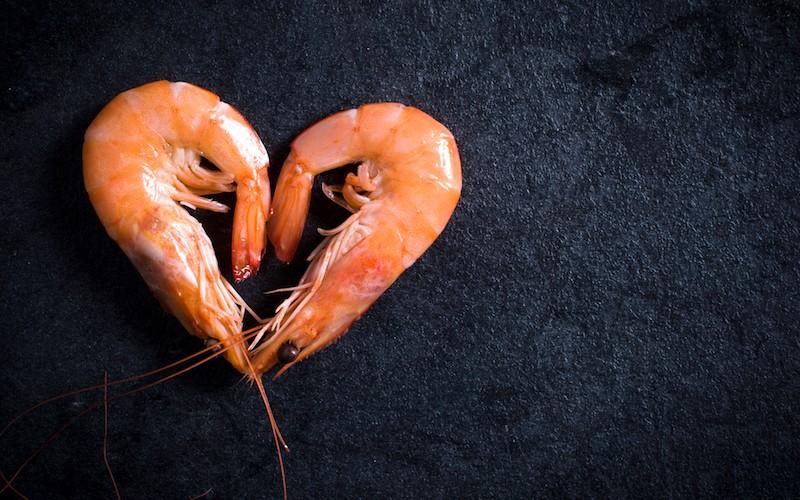 Crevettes marinées (4 pers)