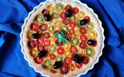 Tarte aux tomates cerises 2