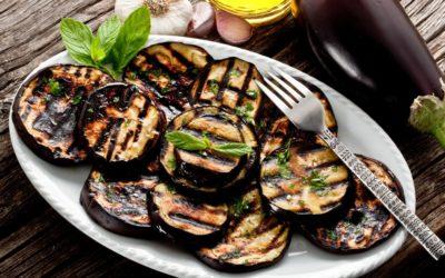 Aubergines grillées (4 pers)