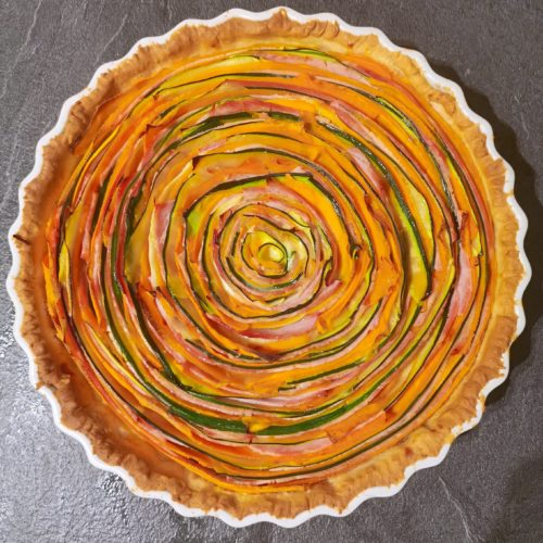 Tarte spirale salée (4 pers)